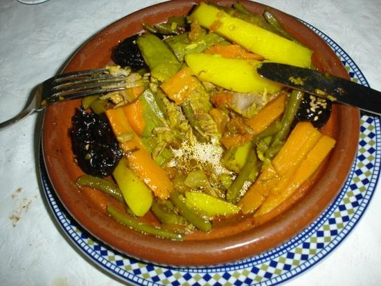 Restaurant La Medina: Tagine - absolutely everwhere in Morocco