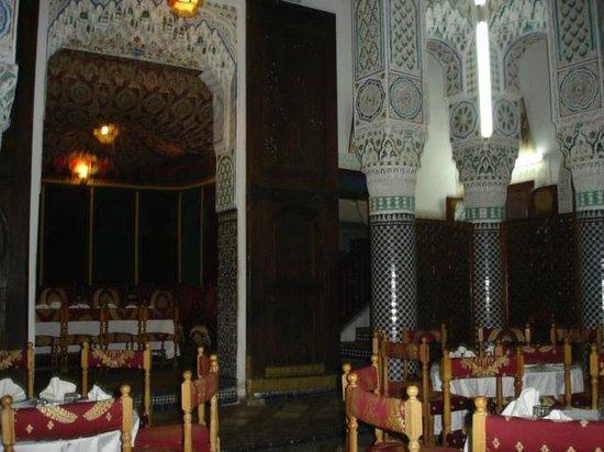 Restaurant La Medina: Former riad interior