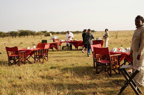 Olare Mara Kempinski Masai Mara: Breakfast