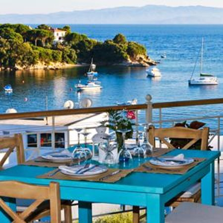 Kolios, Greece: Infinity Blue - The view is perfect