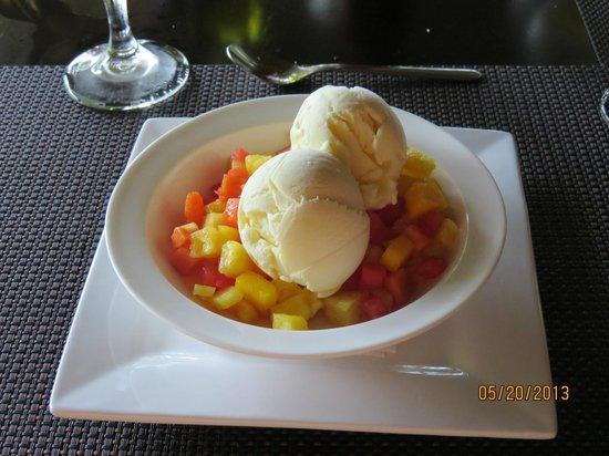 Copa de Arbol Beach and Rainforest Resort : Dessert