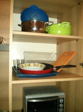 Residence Europa : Cocina