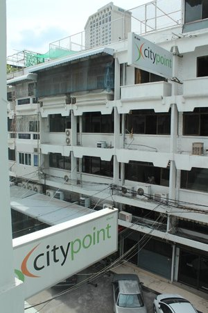 CityPoint Hotel: View from the 4th Floor Room