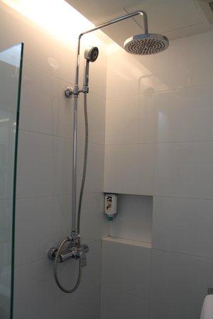 CityPoint Hotel: Rain Shower Head With Regular Shower Head