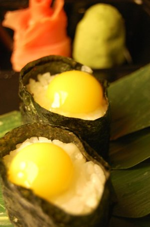 Sakura Japanese Steak House & Sushi Bar: Quail Egg