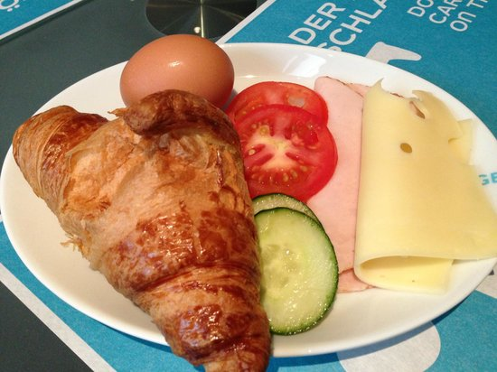 Motel One Salzburg Mirabell : My Choices for Breakfast