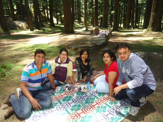 Utopia Resorts, Manali: enjoying at manali