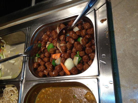 The Real China: meat balls