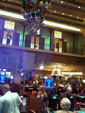 The Orleans Hotel & Casino: Large easy to play floor