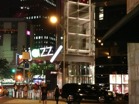 Sapphire Indian Cuisine: Outside - Lincoln Center Jazz & AOL/Columbus Circle