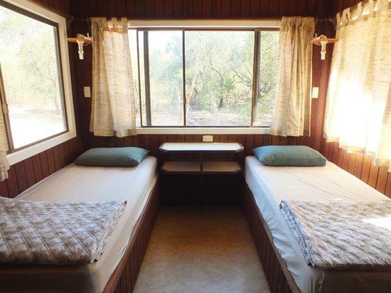 Broome Bird Observatory: Chalet Bedrooms