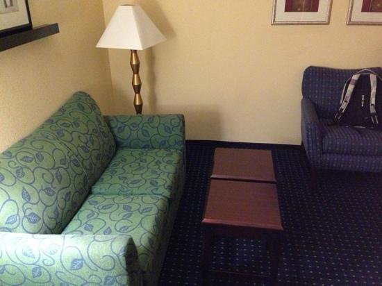 SpringHill Suites by Marriott Greensboro: Sofa area
