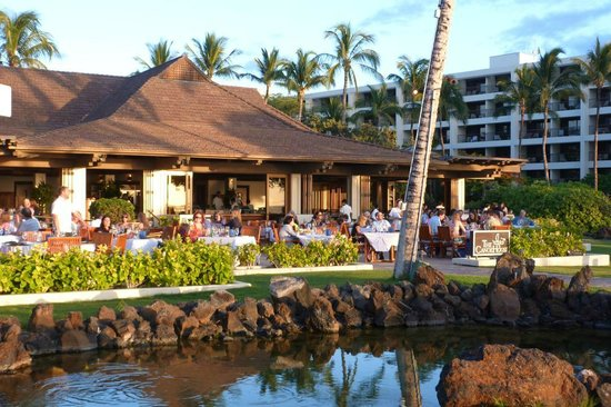 CanoeHouse with Mauna Lani resort behind