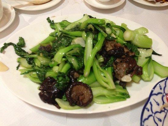 Mandarin House: Mushroom with veggie