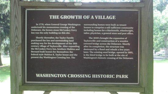 Washington Crossing Historic Park: Washington Crossing Village (1)