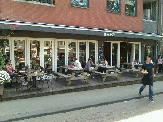 Nassau amsterdam ristorante recensioni numero di for Hotel vicino piazza dam amsterdam