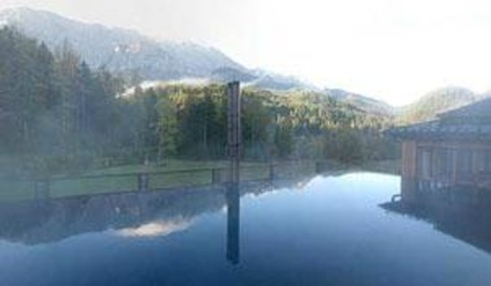 Schloss Elmau: Rooftop Pool... ein Traum!
