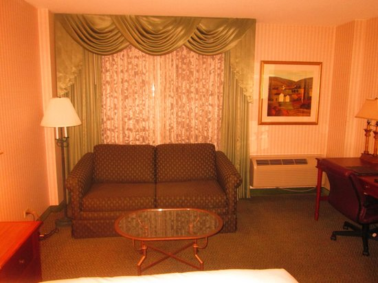 Hilton Lisle / Naperville : View of the room @ Hilton-Lisle (1)