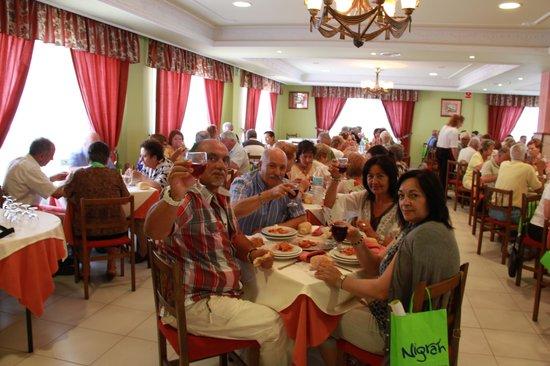 Turimar Hotel: cogiendo fuerzas