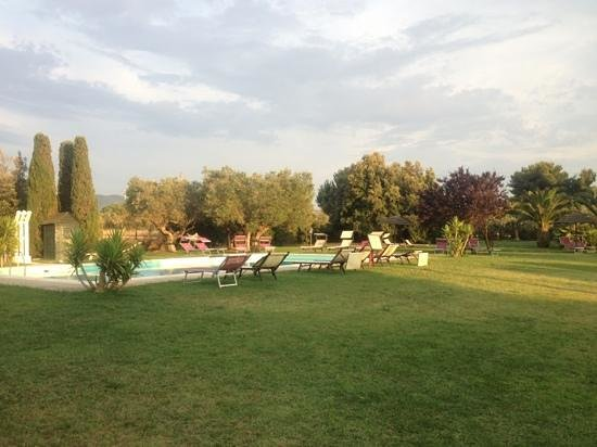 Podere Conte Gherardo: zona piscina