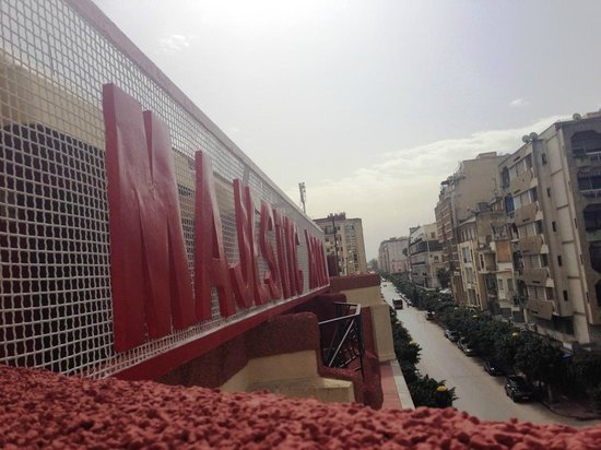 Hotel Majestic: View from the rooftop
