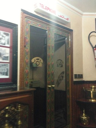 Hotel Majestic: Art Deco telephone booth