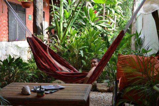 إل هوتليتو: un momento di relax