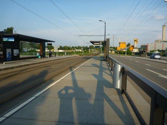 ibis Zurich Messe Airport: The Fernseh-Studio tram stop