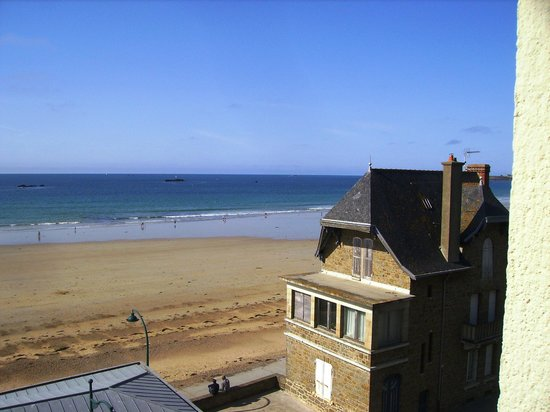 Escale Oceania Saint Malo : Great way to wake up.