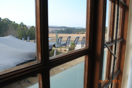 Auldstone House: View from room