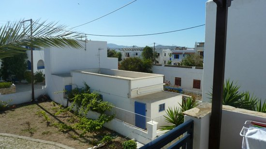 Elisso's Philoxenia: Blick vom Balkon