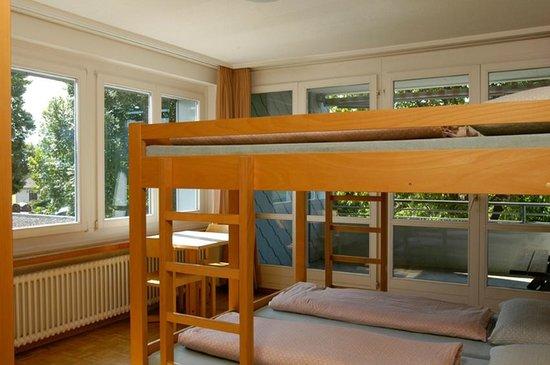 Jugendherberge Rapperswil-Jona: Mehrbettzimmer
