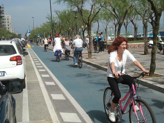 Hotel Holiday : Gita in bici sul lungomare