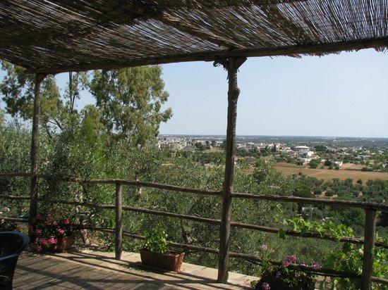 Residenze Fusaro: Panorama verso Specchia