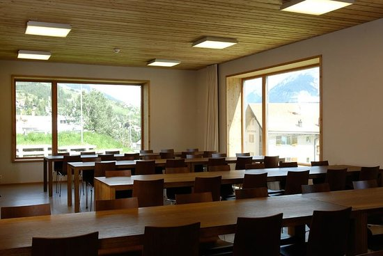 Scuol Youth Hostel : Seminarraum