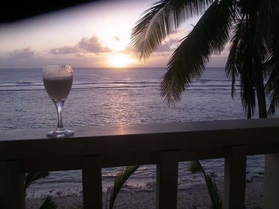 The Edgewater Resort & Spa: Cheers, view from our room.