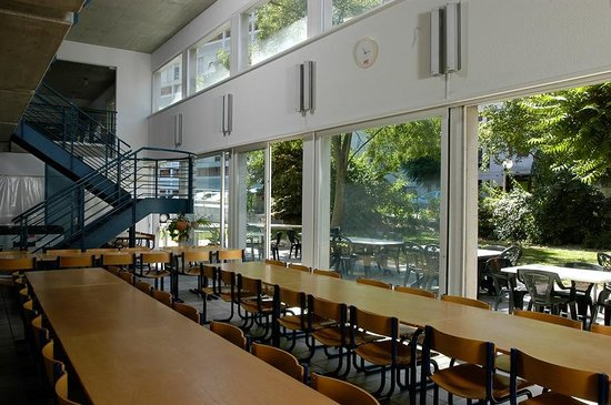 Sion Youth Hostel: Speisesaal