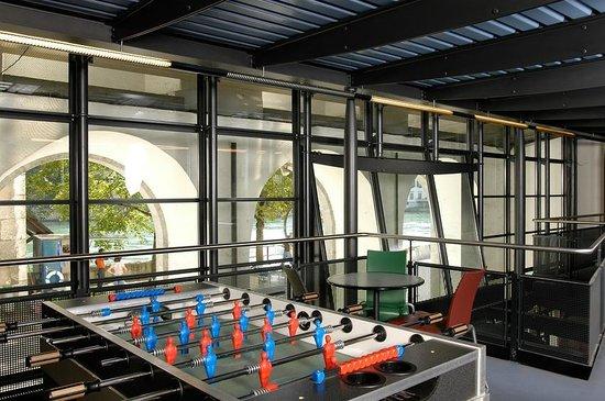 Solothurn Youth Hostel: Gemeinschaftsraum
