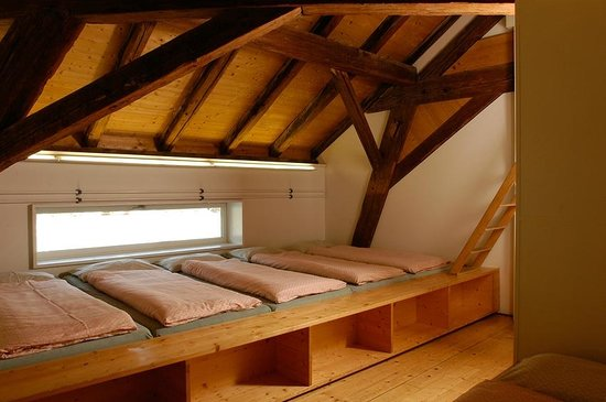 Solothurn Youth Hostel : Mehrbettzimmer