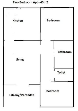 Allamanda: Two Bedroom apt
