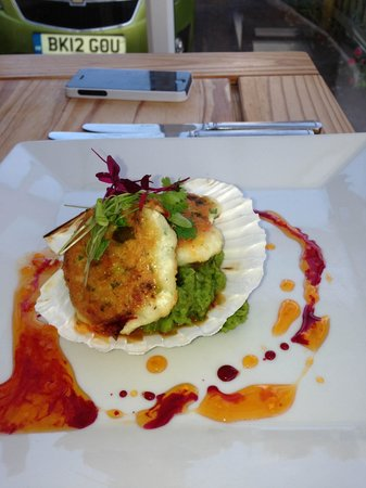 The Sun Bay Hotel: THAI FISHCAKES - DELICIOUS
