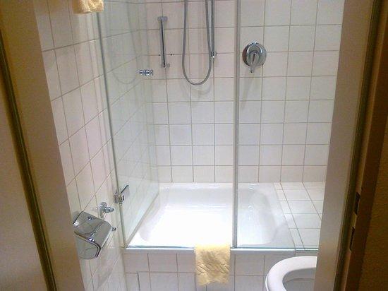 Hotel Vollmann: Bathroom.