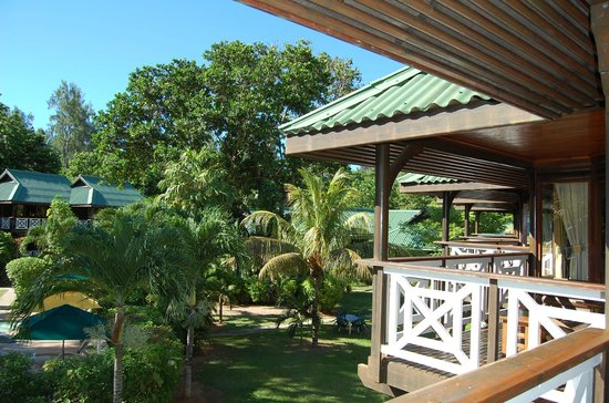 Acajou Beach Resort: Vista dal balcone