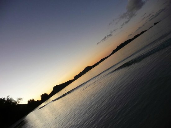 Acajou Beach Resort: Tramonto