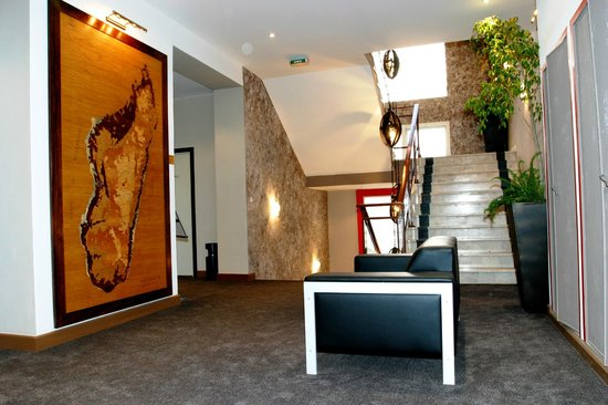 Tana Hotel : hall de réception
