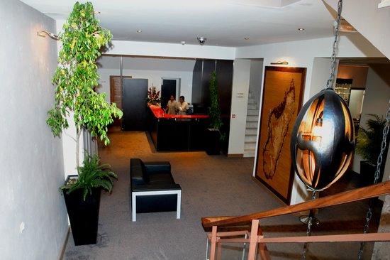 Tana Hotel : réception de l'hôtel
