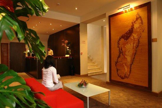 Tana Hotel : Réception