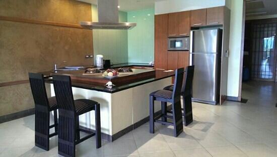 The Aspasia Phuket: The kitchen