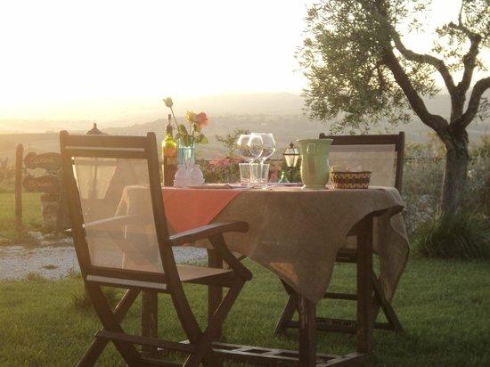 Agriturismo La Bell'Antiglia: Cena romantica