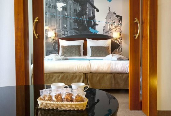 Hanza Hotel : Junior Suite bedroom